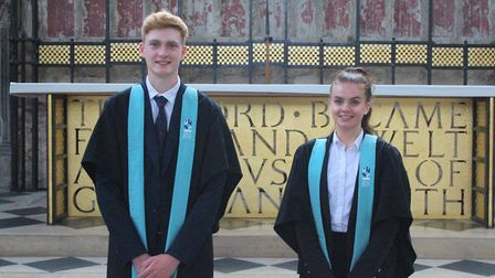 Heads of school at King's Ely. Picture: Supplied