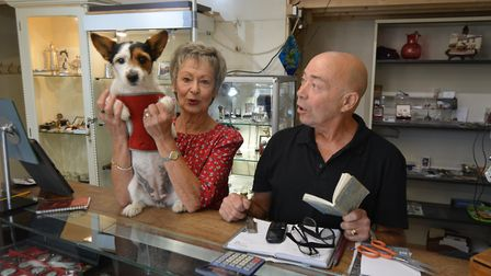 The BBC's Antiques Road Trip dropped into St Mary's Street antique and jewellery shop on Saturday to