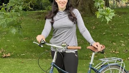 King's Ely teacher Claire Gilbert has raised more than £700 ahead of a 300-mile charity cycle ride i