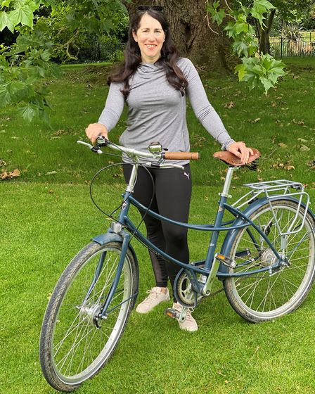 King?s Ely teacher Claire Gilbert has raised more than £700 ahead of a 300-mile charity cycle ride i