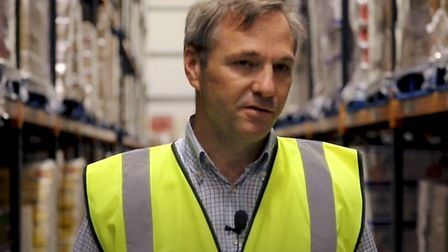 Inside Fenland-based haulier Bretts for National Lorry Week. Picture: YouTube/The Road Haulage Assoc