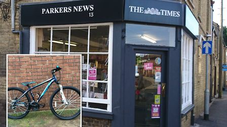 Whittlesey residents and businesses rallied together to buy a young paper boy a new bike after his w