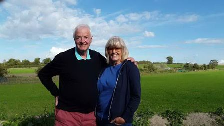 Robert White and Carol Rushton, a holiday snap. Picture;CONTRIBUTED