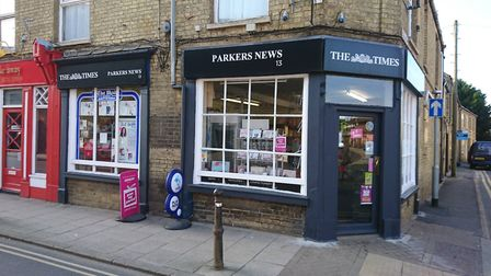 Parkers News in Whittlesey. Picture: Facebook/Parkers News