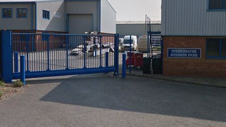 An auction house may come to Springwater Business Park in Whittlesey if given the go-ahead by Fenlan
