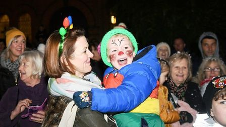Throwback to the 2019 Doddington Christmas Lights switch on event. Picture: IAN CARTER
