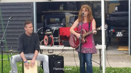 Local musicians sing songs written for Burwell Windmill for the first time at folk heritage day: Fla