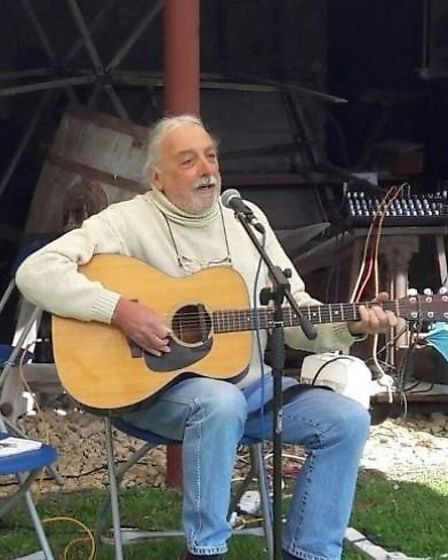 Local musicians sing songs written for Burwell Windmill for the first time at folk heritage day. And