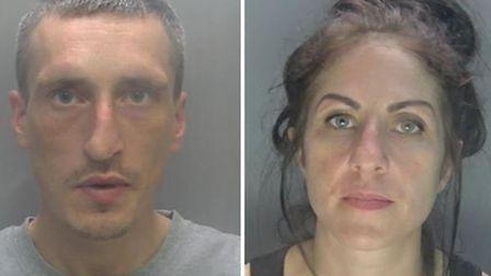 Michael O'Loughlin and Vicky Minervino - two prolific thieves with a catalogue of convictions betwee