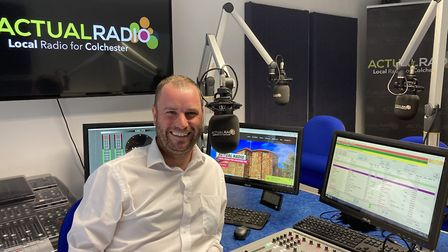 Pete Chapman, founder of Actual Radio in Colchester. Picture: Actual Radio