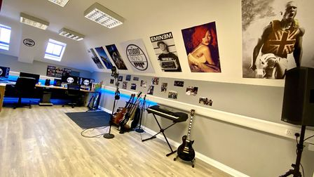 20Twenty Productions have opened a state-of-the-art music recording studio at March Town Hall thanks