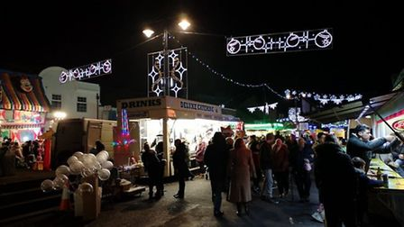 The annual March Christmas Lights switch-on event alongside the market and fun fair will not take pl