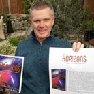 Steve Borrett's first novel 'New Horizons - A Mayson Edmundson Adventure' will be published under th
