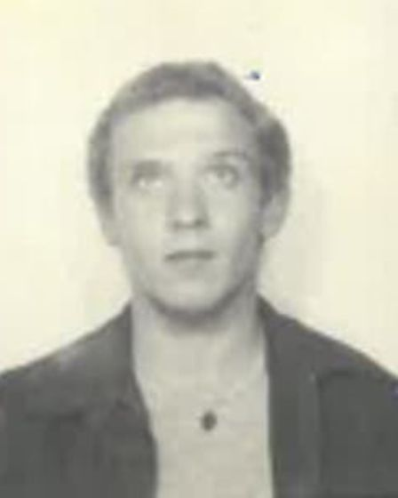 Anthony Lewis in 1986. Picture: Norfolk Constabulary