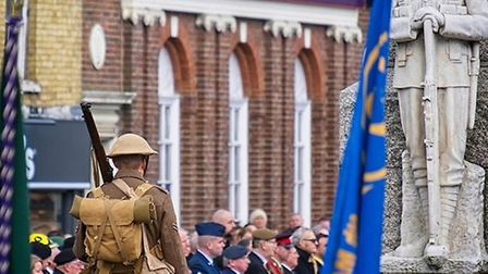 The Remembrance Day parade in March has been limited to just five people and those wanting to specta