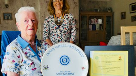 The Inner Wheel club of Ely held its first zoom meeting on September 23, when 19 members joined in i
