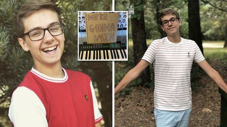 Teenager Jack Wilson recorded his uplifting coronavirus-themed music video after writing the song at