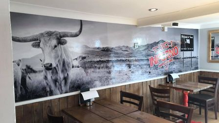 American restaurant Inferno BBQ has opened in Ely, having proved popular as a takeaway service throu