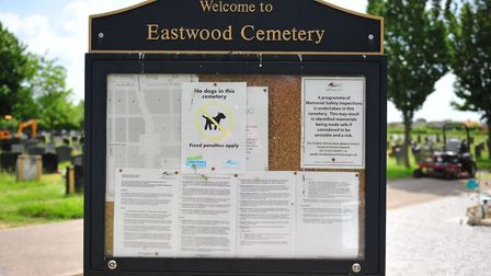 Catherine Flanagan's baby is buried at Eastwood Cemetery in March. Photo(s): HARRY RUTTER
