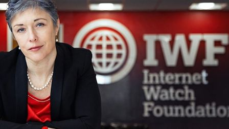 Internet Watch Foundation chief executive Susie Hargreave