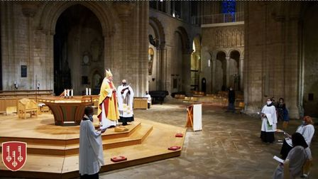 Ely Cathedral special services over three days to ordain new deacons to the diocese. All the service