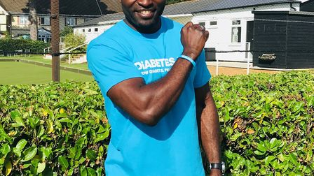 Former Premier League footballer George Elokobi from the Braintree area has backed a campaign by Dia