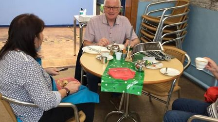 Hot Pots Coffee Shop at March Community Centre, which gives people with learning difficulties a chan