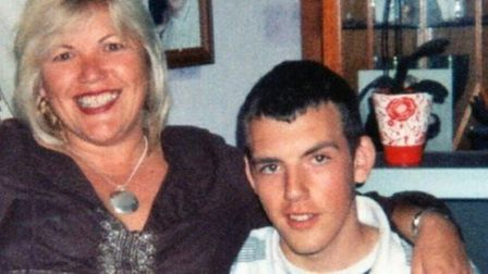 Melanie Leahy with her late son Matthew. Picture: Leahy family