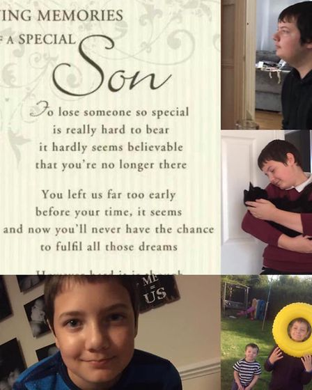 Whittlesey teenager Connor Hawes died on Monday September 14. Picture: Family/ Rachelle Oliver