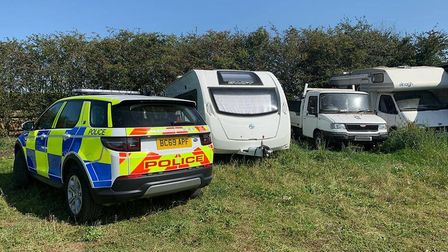 Swift Archway caravan worth £16,000 is recovered just four hours after being reported as stolen than