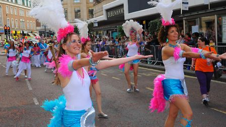 The Lord Mayor's Street Procession 2012 through Norwich city centre. Photo: Steve Adams