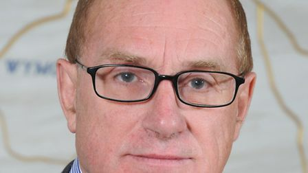 Norfolk County Council leader Derrick Murphy, who has temporarily stepped down.