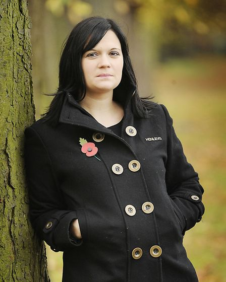 Nikki Scott, whose husband Lee who was killed in Afghanistan. Picture Matthew Usher.