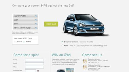 Robinsons Motor Group has launched a new online fuel calculator.