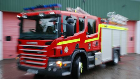 Firefighters were called to reports of a house fire in Mile Cross.