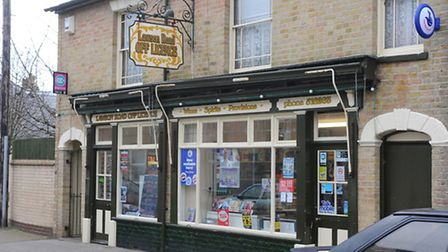 There was an attempted robbery at the Lawson Road off licence in Kirkley. Picture: James Bass
