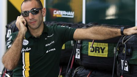 Caterham's new team principal Cyril Abiteboul cuts a cool figure during the final weekend of the 201