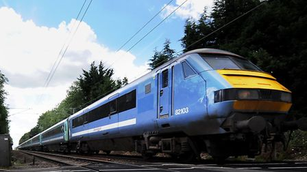 There are delays of up to 20 minutes on the Greater Anglia Norwich to London service this morning. P