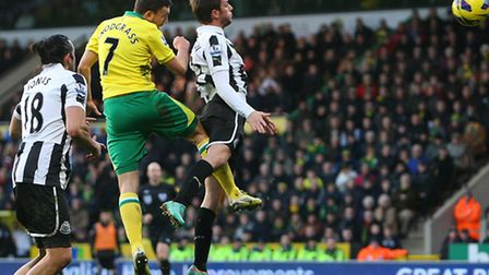 Jonas Gutierrez (left) played under Norwich City boss Chris Hughton during his time in charge at St