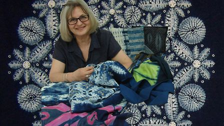 Textile artist Jane Callender will be speaking at an Arts and Eats event at Chameleon House, Harlest