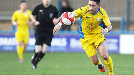 Steve Spriggs dazzled in a Lynn shirt but now it's time for somebody else to grab the headlines. Pic