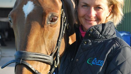 Lucinda Fredericks is to give a lecture demo at Hall Farm Rescue and Rehoming Centre in Snetterton n