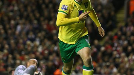 Norwich City drew 1-1 at Anfield last term and could even have won the match in the end.
