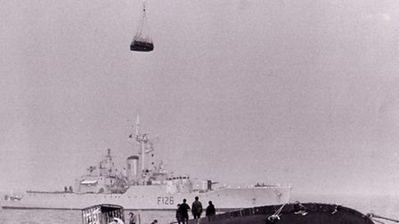 The Eleni V tanker disaster, which hit the headlines in May 1978. With HMS Plymouth close by, the s