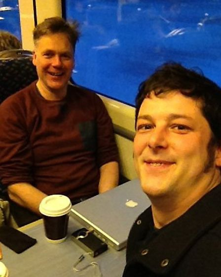 Marcus Patteson and Steve Copley, programme director and musical director of Sistema in Norwich, on