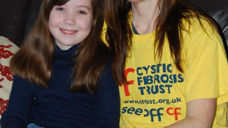 Laura Moorhouse is running the London Marathon for the Cystic Fibrosis Trust which helps her daughte