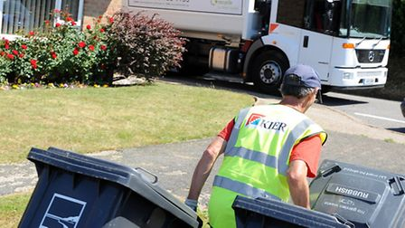 Waste collections are set to return to normal in north Norfolk.