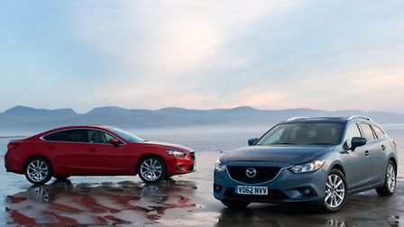 All-new Mazda6 saloon and Tourer feature the new Kodo Soul of Motion design language and Skyactiv te