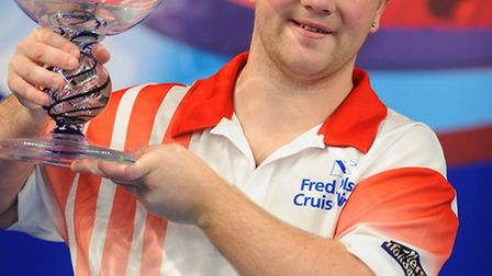 Fred Olsen Cruise Lines.World Indoor Bowls Championships at Potters Leisure Resort, Hopton.Men's Fin