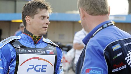 Event 2 of the Speedway World Cup at the Norfolk Arena - Riding for Team Czech Republic King's Lynn
